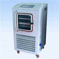 Lgj-10fd electric heating gland type freeze dryer
